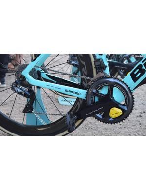 LottoNL-Jumbo is one of multiple WorldTour teams to use Shimano Dura-Ace R9150 drivetrains