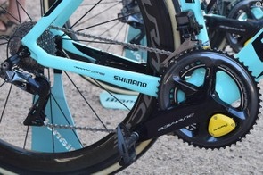 LottoNL-Jumbo is one of multiple WorldTour teams to use Shimano Dura-Ace R9150 drivetrains