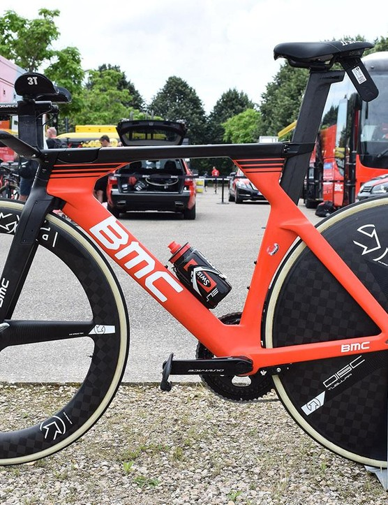 Another view of Rosskopf's bike