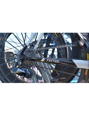 Bardet's bike uses a Shimano Ultegra chain