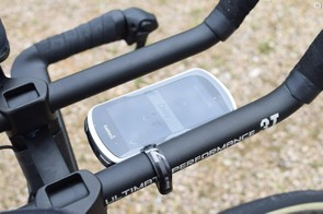 K-Edge provides BMC with time-trial cockpit computer mounts, while BMC has also been using Garmin Edge 1030 computers for the 2018 season