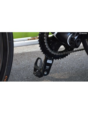 Team Sky chose to race with Stages power meters at the Tour Down Under, but also have the choice of using Shimano's new unit