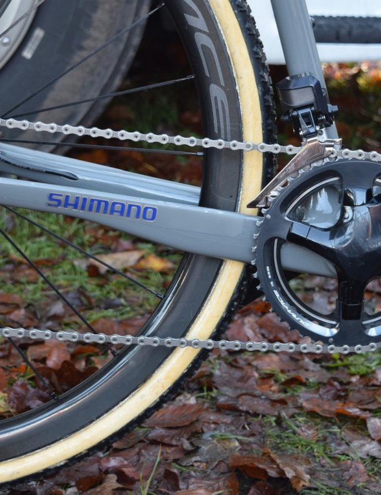 This is the first cyclocross season where riders have been equipped with Shimano Dura-Ace R9100 series groupsets