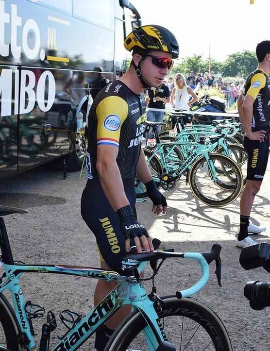 Groenewegen is a former Dutch national road race champion