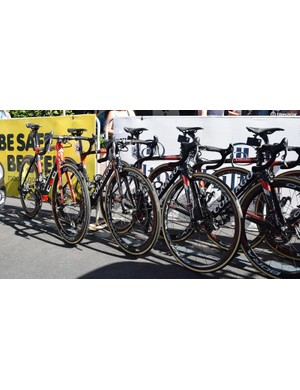 UAE Team Emirates riders have a choice of C60, Concept or V2-R models to race on