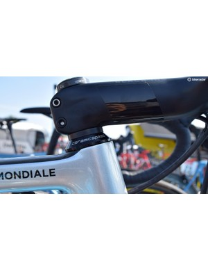 CeramicSpeed also provides AG2R La Mondiale with their headset bearings