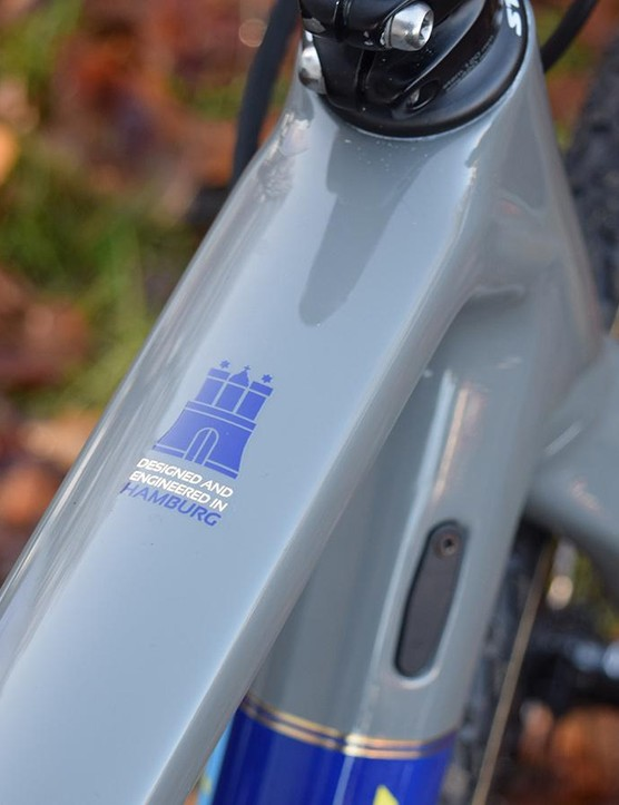 Stevens Bikes is based in Hamburg, close to the Zeven World Cup event