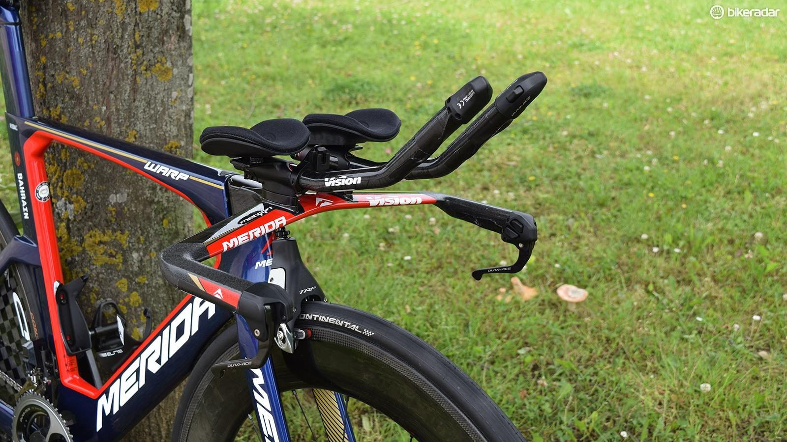 FSA Vision Aero Brake Levers for TT Time Trial Bike Bicycle Cockpit NOS