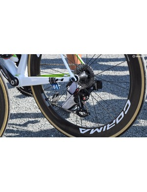 It is understood Warren Barguil pays for the CeramicSpeed OSPW system himself