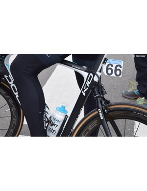 Another look at Ian Stannard's Pinarello Dogma K10 suspension system