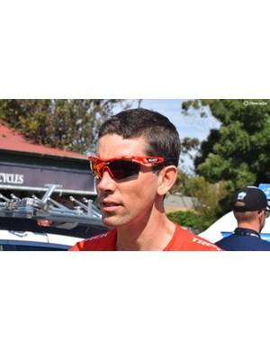 Trek-Segafredo riders wear Rudy Project's Tralyx sunglasses for racing
