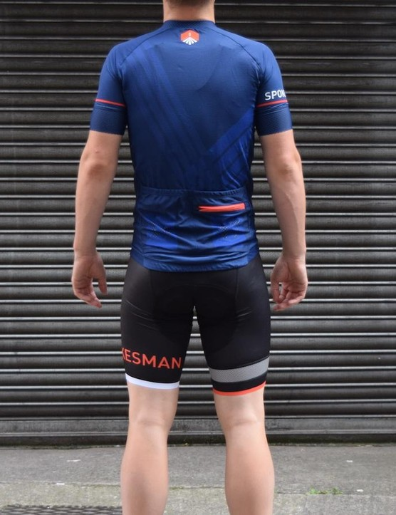 The Attack jersey includes two large rear pockets and a smaller zipped pocket for valuables