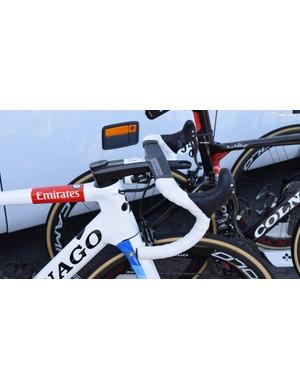 Kristoff has been using Deda's Alanera integrated carbon cockpit system this season