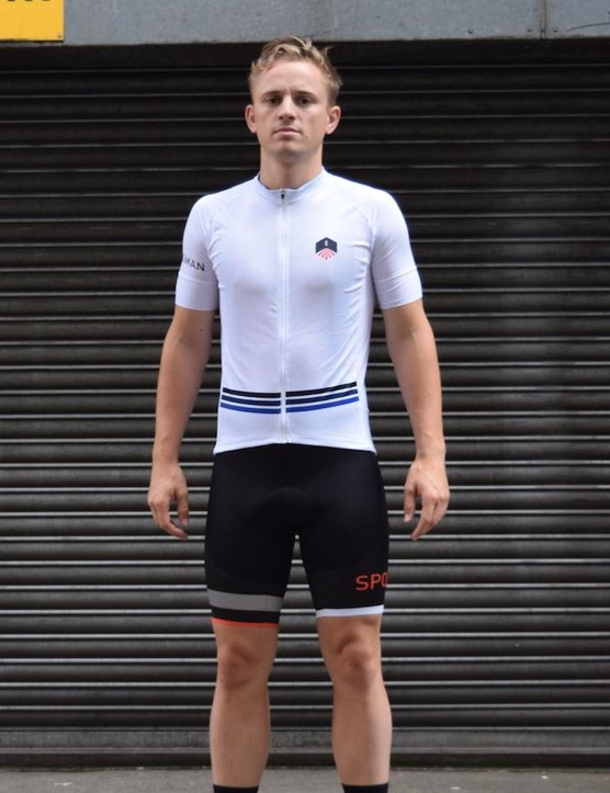 We were also sent the Climber's jersey in a Cycle Surgery exclusive white