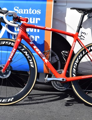 Trek has committed to using disc brakes during the season