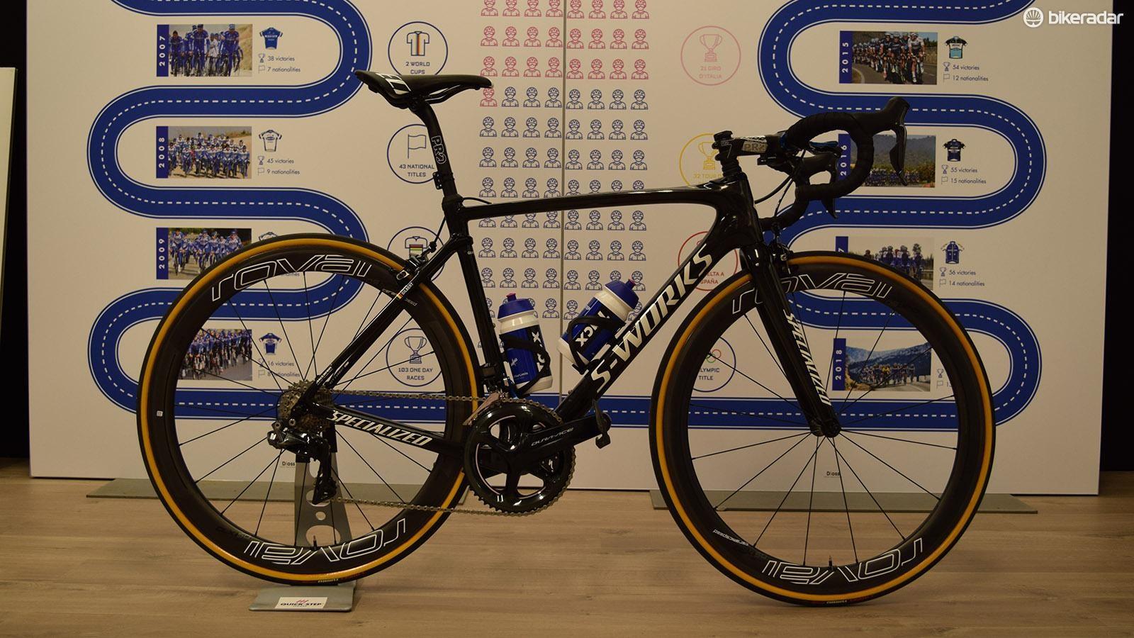 Philippe Gilbert's Specialized S-Works Roubaix rim brake for Paris-Roubaix 2018