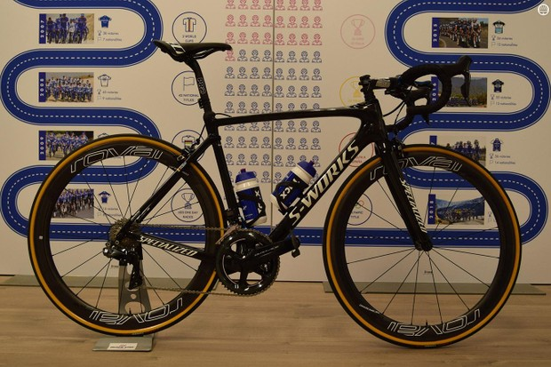 Philippe Gilbert's Specialized S-Works Roubaix rim brake for Paris-Roubaix 2018