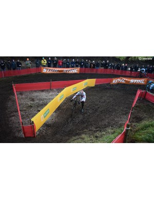 Wet and muddy were the course conditions at Zeven