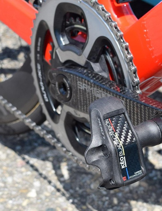 The French WorldTour team uses Look Keo Blade Carbon pedals