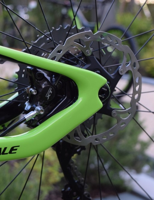 Flexible carbon removes the need for pivots at the back