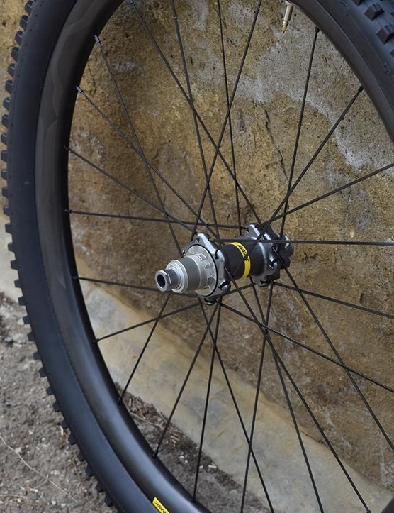 The hubs come with all the usual axle and freehub variants, and look rather good, we think