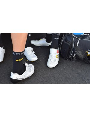 LottoNL-Jumbo are dressed in Shimano from head to toe