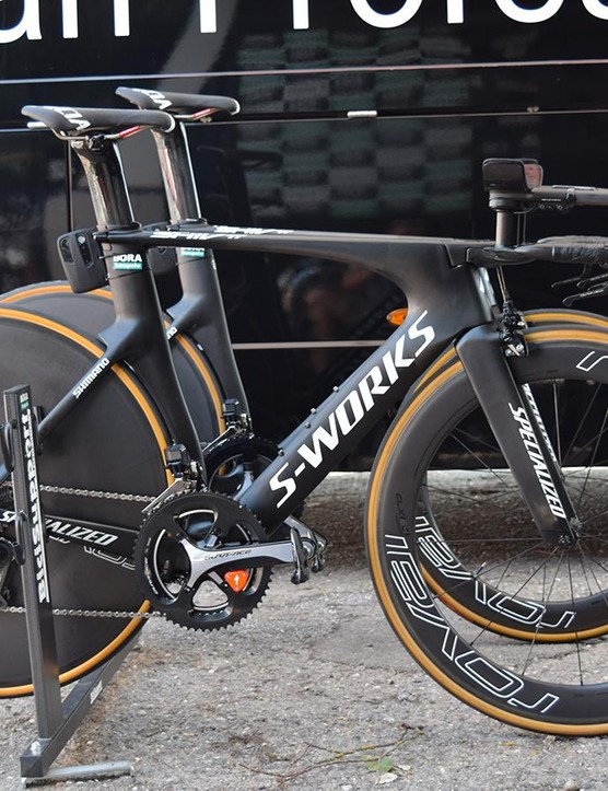 Peter Sagan's S-Works Shiv TT