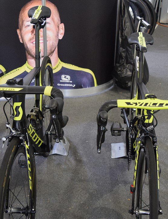 Syncros produces one-piece handlebar and stem integrated cockpits