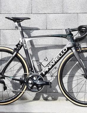 Geraint Thomas' Pinarello Dogma K10, as used in the 2018 Paris-Roubaix