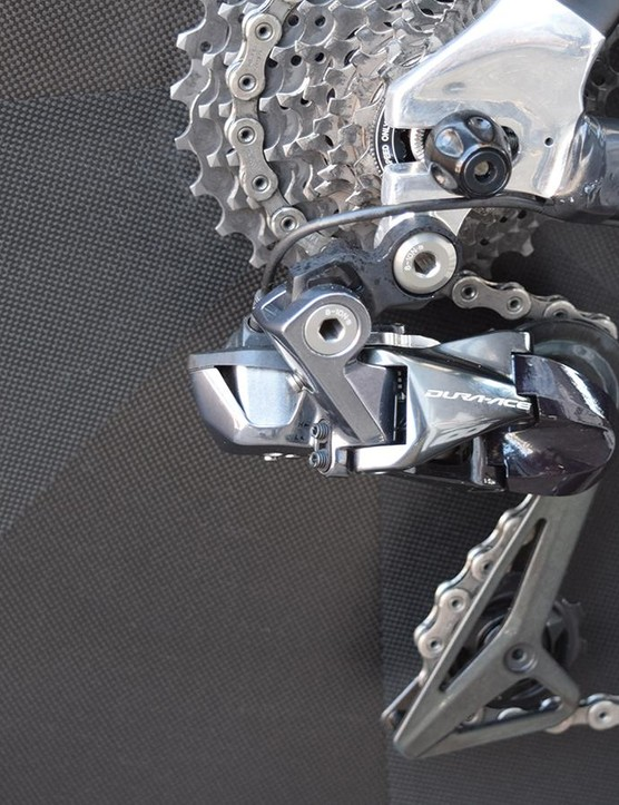 A closer look at the Shimano Dura-Ace R9150 rear derailleur