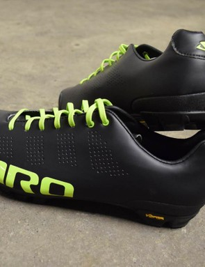 This is the new tangy lime/black colourway of Giro's hugely popular Empire VR90 off-road shoes. Anyone else's mouth watering at the sight of these?