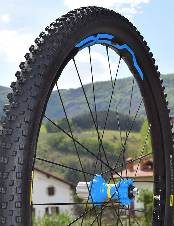The alloy version of Mavic's new wheelset is called called the XA Elite and comes with a 25mm internal width rim