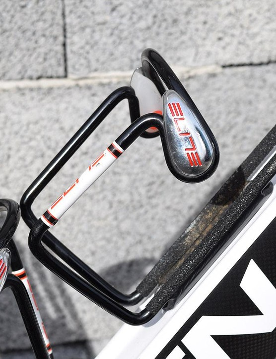 Each Classics season, Team Sky dig out their Elite Ciussi bottle cages, which are customised with grip tape for extra security