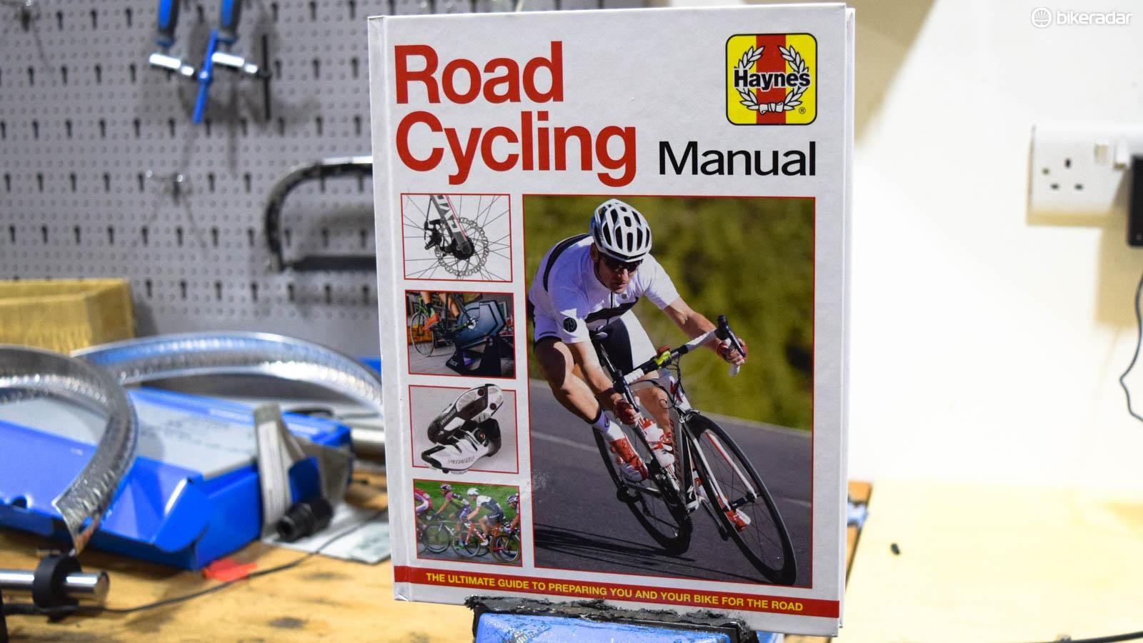 The new Haynes Road Cycling Manual — like a car maintenance guide, but for cyclists