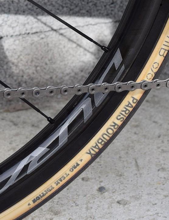 Several teams ran the same Paris-Roubaix tubulars at the Tour of Flanders last week