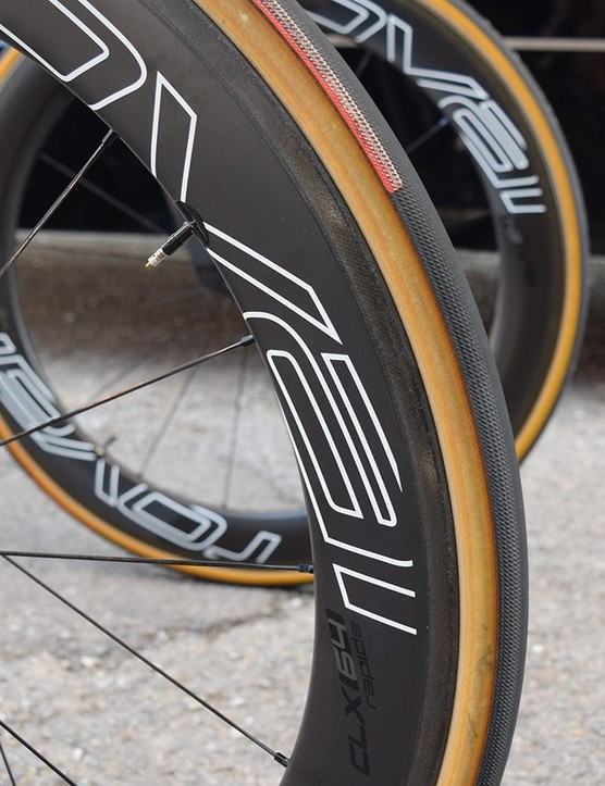 Bora-Hansgrohe use the same S-Works Turbo tyres on their time trial bikes as they do on the road