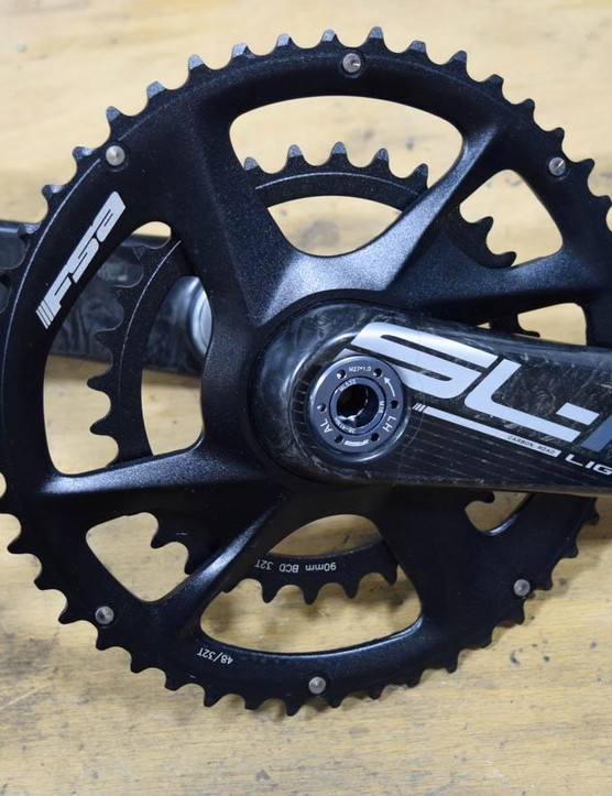 These FSA SL-K Modular Adventure cranks come in 48/32t or 46/30t and weigh just 617g