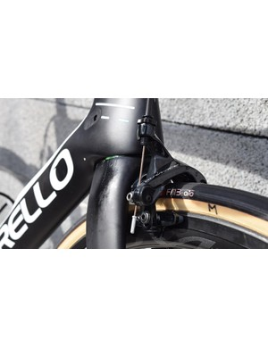 A look at the Shimano Dura-Ace R9100 front brake