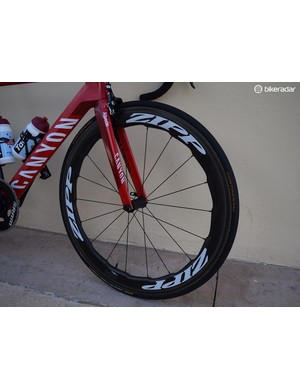 Zipp's flagship wheelset, the 454 NSW, features biomimicry from a whale fin, aimed at improving aerodynamic performance