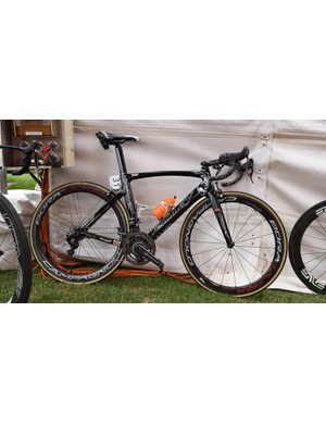 The Ridley Noah SL that Andre Greipel rode to Stage 6 victory