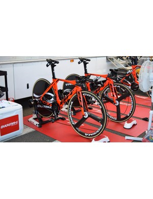 Fortuneo-Samsic switched from Look bikes to BH just a week ahead of the stage