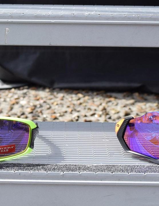 Oakley launched the glasses ahead of Paris-Roubaix