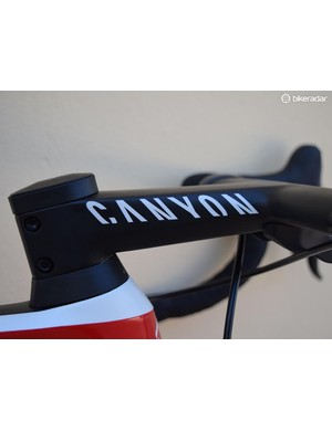 Canyon also produces the carbon-integrated cockpit system