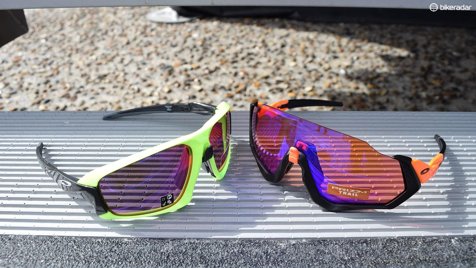 The glasses are the latest addition to Oakley's range