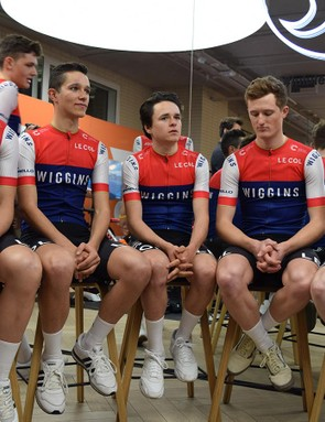 The team showed off its new kit at the official team presentation earlier this week