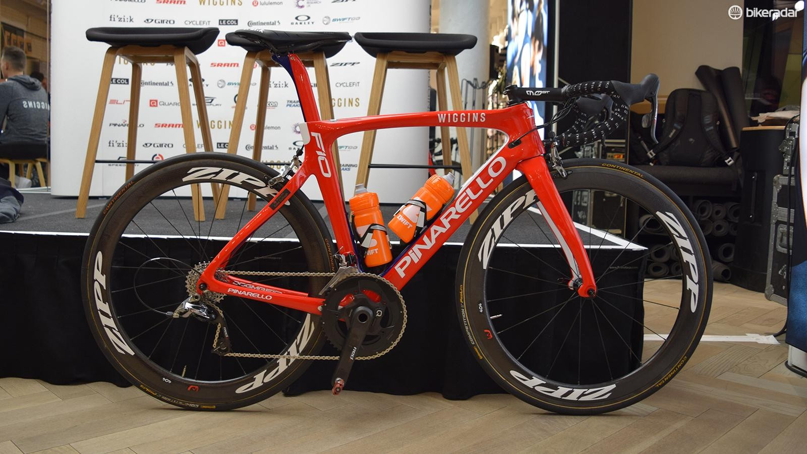 Team Wiggins' Pinarello Dogma F10 for 2018