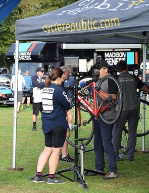 Cycle Republic offers last minute mechanical repairs or adjustments
