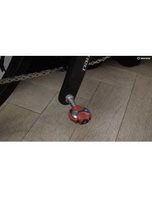 Team Wiggins uses Speedplay pedals