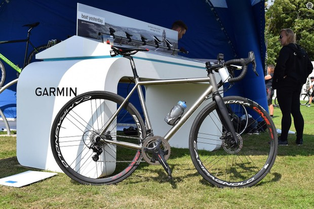 My bike of choice for the event, a Curve Belgie Disc with Campagnolo wheels and groupset