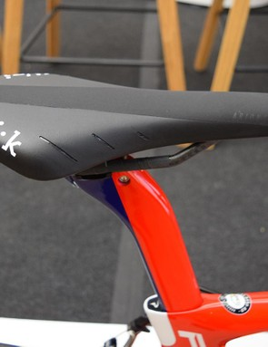 Team Wiggins uses Fizik saddles, with Cullaigh opting for an Arione